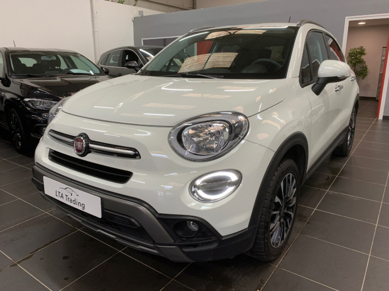 Fiat 500X 1.3 FIREFLY TURBO T4 150CH CROSS DCT Essence BLANC Occasion à vendre